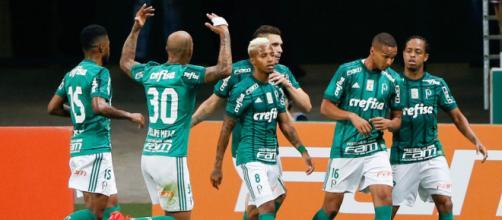 Atletas do Palmeiras no ano de 2018