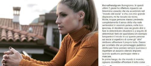 """Fabrizio Frizzi, Michelle Hunziker: """"Perché non ho scritto nulla''"""