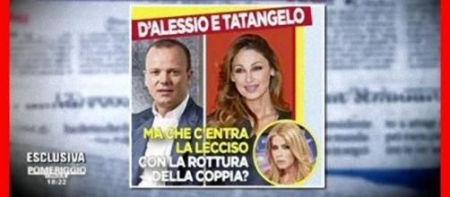 Loredana Lecciso complice della crisi tra Gigi D'Alessio e Anna Tatangelo?