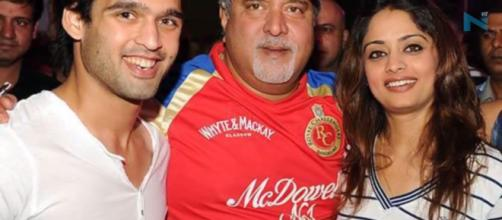 Mallya with Pinki-Photo ( Image credit -screenshot-Nyooz TV-youtube.com)
