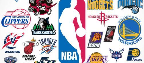 Mini Panier de Basket NBA Slam Jam Board + autocollants équipes - panier-basket.fr