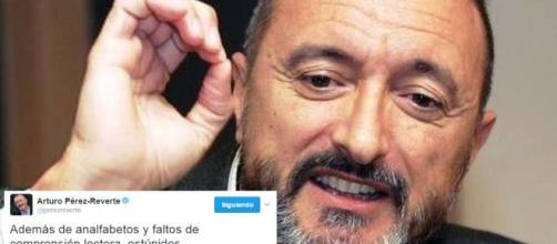 """Pérez-Reverte estalla contra En Marea: """"Analfabetos, estúpidos ... - elespanol.com"""