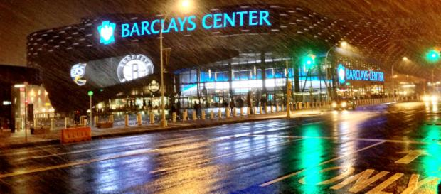 Barclays Center, site of UFC 223, April 7th - By Mikhail Kim (Flickr) via Wikimedia Commons