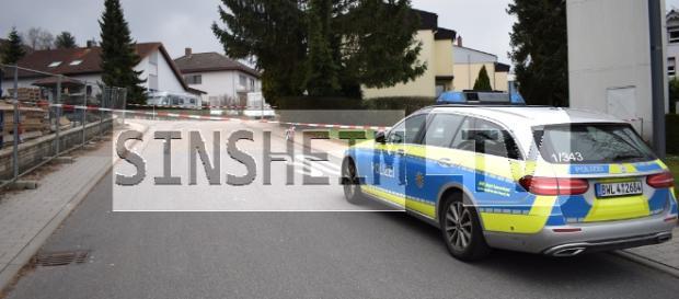 Die Polizei sperrte den Tatort ab. Foto: SinsheimTV/Buchner