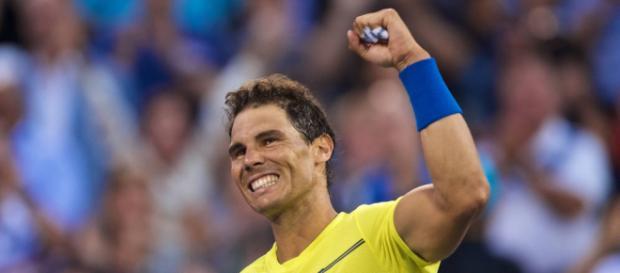 El tenista profesional Rafael Nadal.