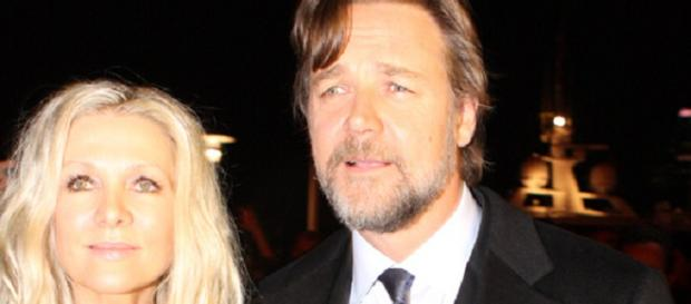 Russell Crowe with his former wife Danielle Spencer (Source: flickr, Eva Rinaldi)