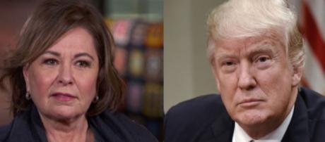 Roseanne, Donald Trump, via Twitter