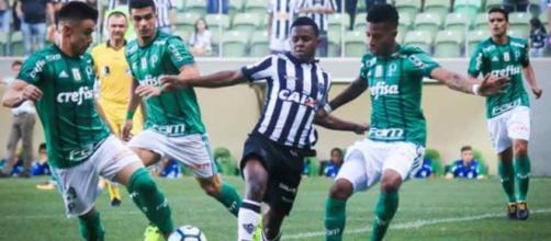 Atlético Mineiro VS Palmeiras, em uma partida