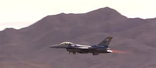 F-16 Fighting Falcon Nellis AFB Aviation Nation 2017.- [spencerhughes2255 / YouTube screencap]