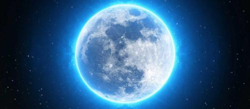 La luna azul que iluminará el día de Pascua