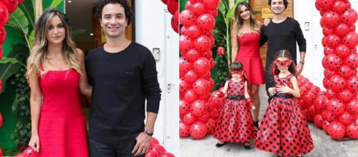 Marco Luque e Flavia Vitorino rompem casamento de 7 anos