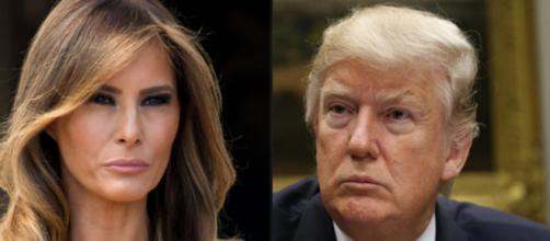Melania Trump, Donald Trump, via Twitter, via Twitter