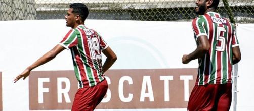 No Sub-20, Flu manteve os 100% e está nas semifinais da Taça Rio (Foto: Lucas Merçon/Fluminense F.C.)