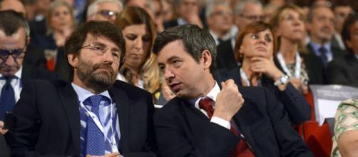 Orlando e Franceschini per un'intesa con i 5 stelle e senza Renzi