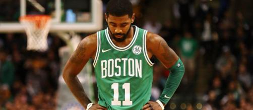 Will Kyrie Irving go with the Celtics to the playoffs? [image source: The Rumble/YouTube screenshot]