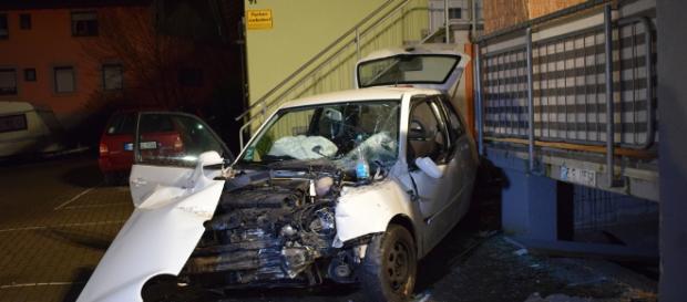 Der Mann wurde bei dem Unfall lebensgefährlich verletzt. Foto: SinsheimTV/Buchner