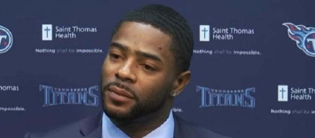 Malcolm Butler signed a five-year, $61-million deal with the Titans. - [Image Credit: Tennessee Titans / YouTube screencap]