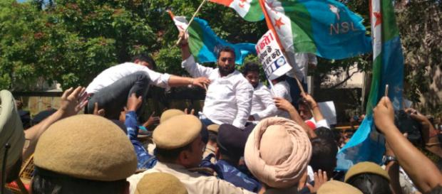 NSUI promises to stand by CBSE students. [Image credit: NSUI/Twitter]