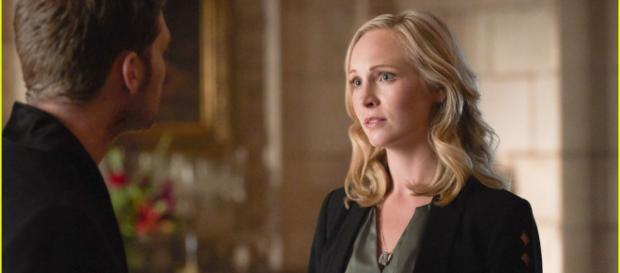 Reencontro de Klaus e Caroline