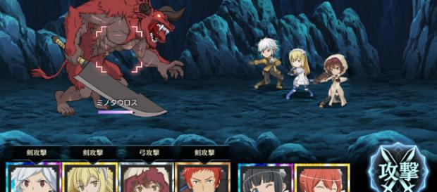 Upcoming DanMachi Game takes off on a Literal Adventure - worldwithouthorizons.com