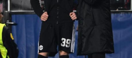 José Mourinho estaba inicialmente impresionado con el tamaño de Scott McTominay