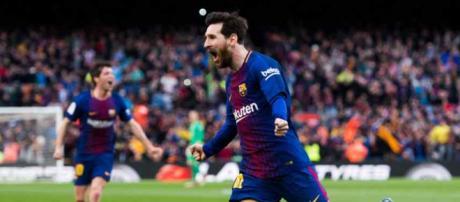 Leo Messi fez a diferença para o Barça
