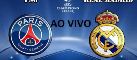 Transmissão ao vivo do jogo entre PSG e Real Madri acontece a partir das 16h45