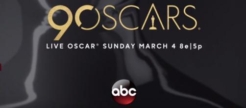 2018 Oscars are live on ABC. [ABC/YouTube screenshot]