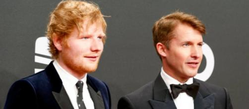 James Blunt names Ed Sheeran as his son's godfather (Foto - nme.com)
