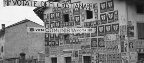 La campagna elettorale per le Elezioni Politiche del 1948, le prime dell'Italia Repubblicana