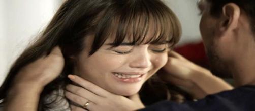 Laura será ameaçada por Renato. (Foto: Divulgação TV Globo)
