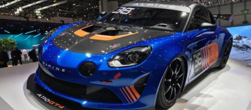 News Alpine A110 GT4 au Salon de Genève