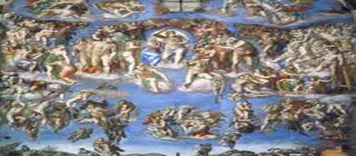 Sistine Chapel fresc (Image Credit: Michelangelo en.wikipedia.org)