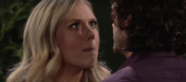 Abby comes back to Genoa City in rare form. - [Image via The Young and the Restless / YouTube screenshot]