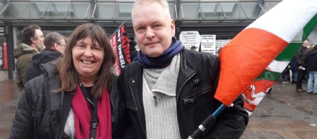 Copyright A. Baschke: Mütter gegen Gewalt Demo in Bottrop