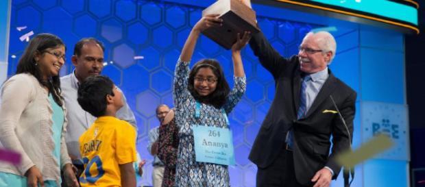 Edith Fuller está haciendo historia al ser la persona más joven que compite en el Scripps National Spelling Bee.