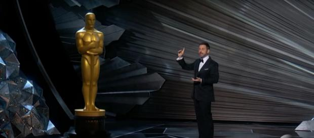 Jimmy Kimmel makes the perfect introduction to Oscars' best attributes at the 90th Oscars 2018 broadcast, Image cap ABC/YouTube