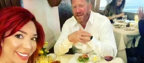 Farrah Abraham has lunch with her boyfriend. - [Photo via Instagram]