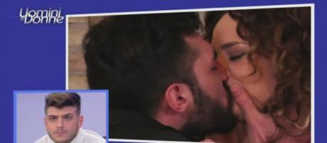 Uomini e Donne: Lorenzo Riccardi bacia Sara Afi Fella