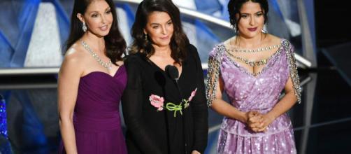 """Actrices víctimas de Weinstein reivindican el movimiento """"Me Too"""