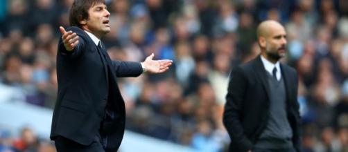 Antonio Conte no puede soportar ver como su equipo del Chelsea es superado por el campeón electo, el Manchester City