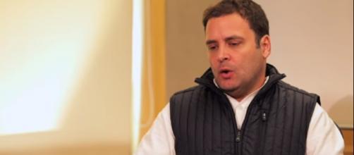 Congress president Rahul Gandhi - (Image Credit: NDTV/Youtube screencap)