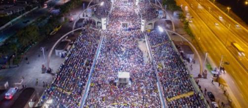 """Evento do programa social """"Vício Tem Cura"""", no Sambódromo do Anhembi (SP)"""