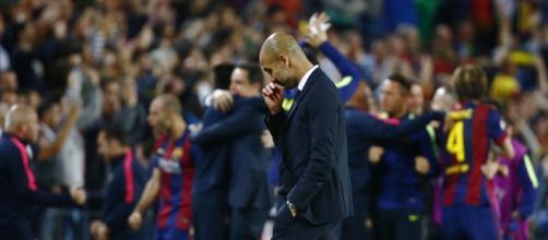 Guardiola amenaza al Barça - dailymail.co.uk