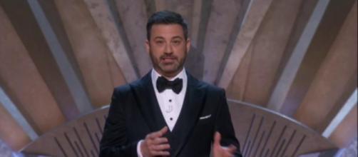 Jimmy Kimmel at the Oscars, via Twitter