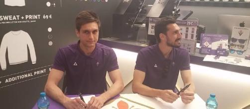 L'ex portiere della Fiorentina Tatarusanu e Astori
