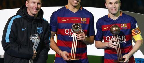 Messi, Suárez e Iniesta creen que el Barça debería buscar a David Alaba