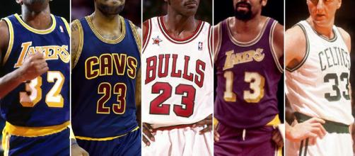 Michael Jordan, LeBron James top SI's NBA alltime starting fives ... - si.com