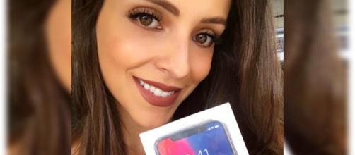Noiva de Lucas, do BBB18, está sorteando um iPhone X