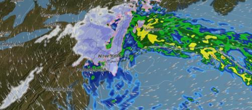 Nor'easter amenaza el noreste de EE.UU.